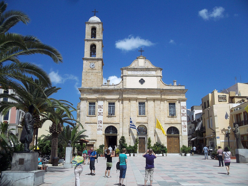 Kathedral in Chania